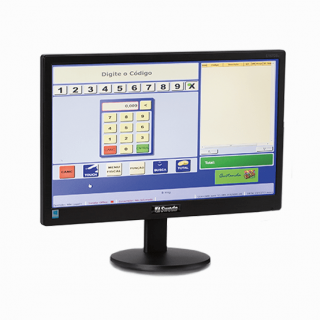Monitor LED Widescreen 18.5